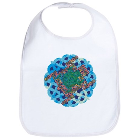 Celtic Turtle Bib