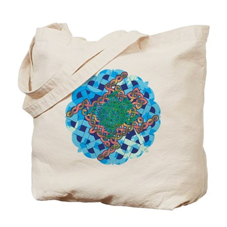 Celtic Turtle Tote Bag