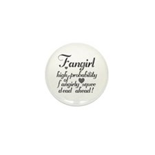 Fangirly Squee Mini Button (100 pack)