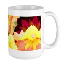 Bright Flowers Large Mug