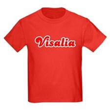Retro Visalia (Red) T
