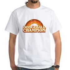 DodgeBall Champion White T-Shirt