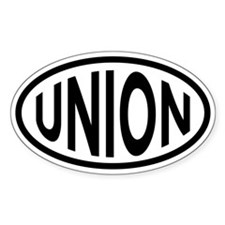 Union Oval Sticker (10 pk)