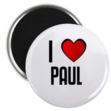 I LOVE PAUL Magnet