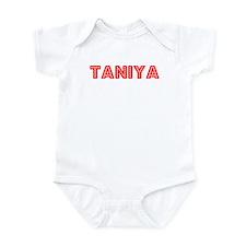 Retro Taniya (Red) Infant Bodysuit