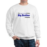 I'm Expecting Big Bro January Sweater