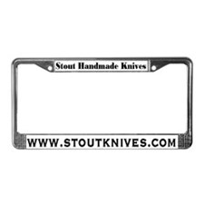 Stout Knives License Plate Holder