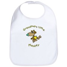 Grandma's Little Monkey Bib