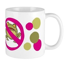 No Frogs Mug