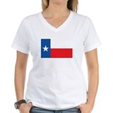 TEXAS Womens V-Neck T-Shirt