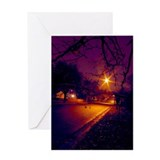 Colors of Night Greeting Card