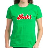 Retro Baki (Red) Tee