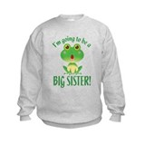 Big Sister Frog Sweatshirt