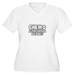 """""""Chemo: All The Cool Kids..."""" Women's Plus Size V-"""