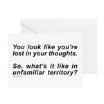 LOST IN YOUR THOUGHTS Greeting Cards (Pk of 10)