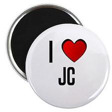 I LOVE JC Magnet