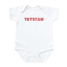 Retro Trystan (Red) Infant Bodysuit