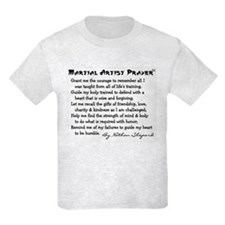 Karate Prayer Poem T-Shirt