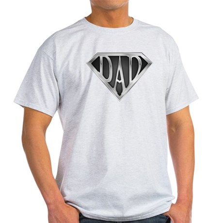 SuperDad - Metal Light T-Shirt