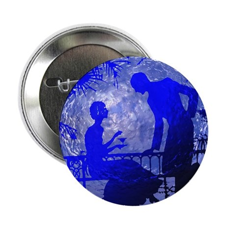 "Blue Moon Lovers 2.25"" Button"