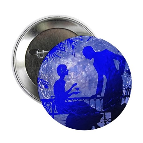 "Blue Moon Lovers 2.25"" Button (100 pack)"