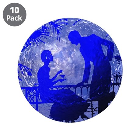 "Blue Moon Lovers 3.5"" Button (10 pack)"
