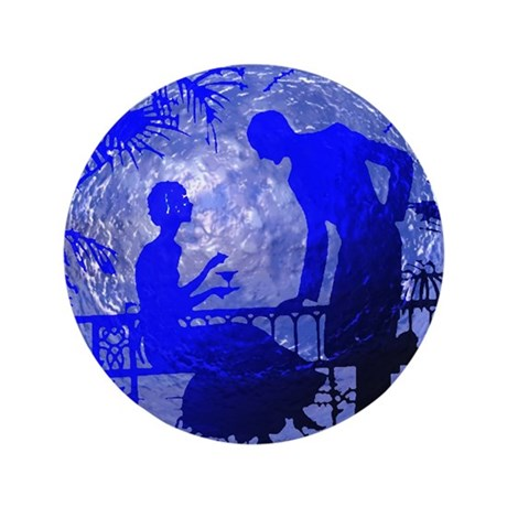 "Blue Moon Lovers 3.5"" Button (100 pack)"