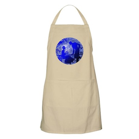 Blue Moon Lovers BBQ Apron