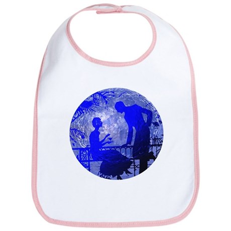 Blue Moon Lovers Bib