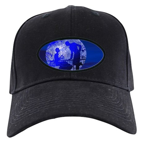 Blue Moon Lovers Black Cap