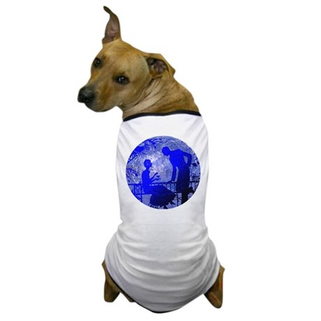 Blue Moon Lovers Dog T-Shirt