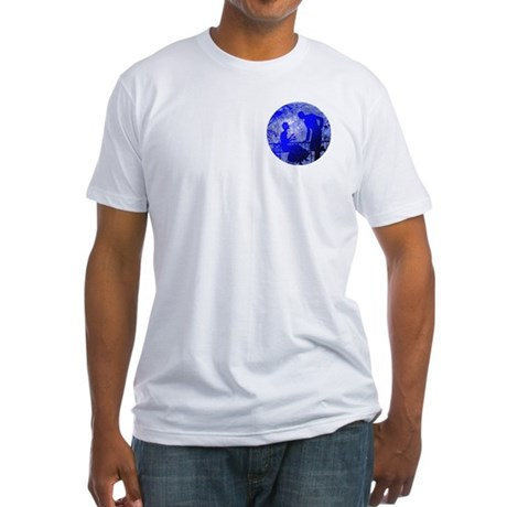 Blue Moon Lovers Fitted T-Shirt