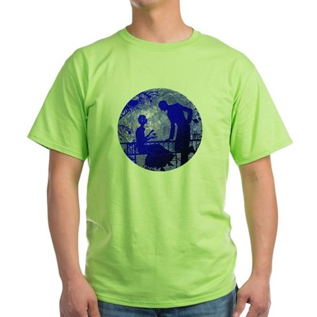 Blue Moon Lovers Green T-Shirt