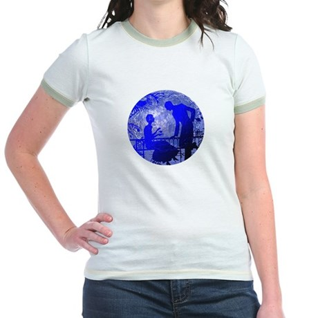 Blue Moon Lovers Jr. Ringer T-Shirt