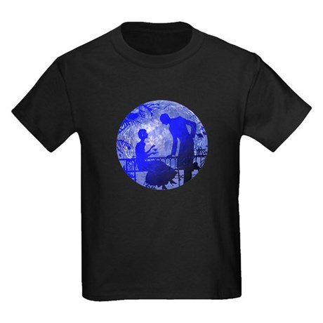 Blue Moon Lovers Kids Dark T-Shirt