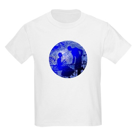 Blue Moon Lovers Kids Light T-Shirt