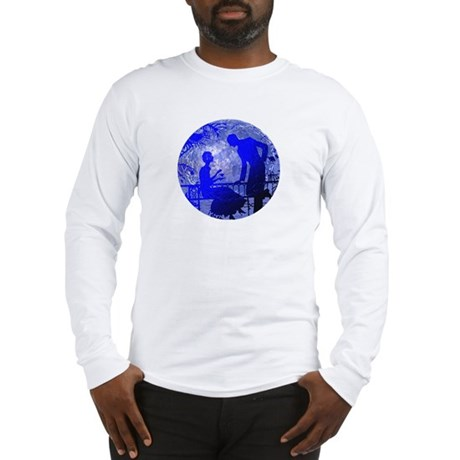 Blue Moon Lovers Long Sleeve T-Shirt