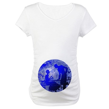 Blue Moon Lovers Maternity T-Shirt