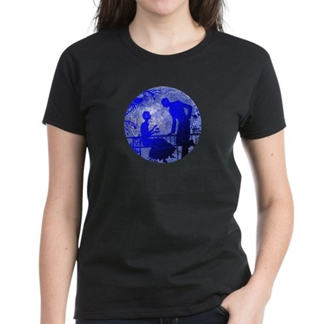 Blue Moon Lovers Women's Dark T-Shirt