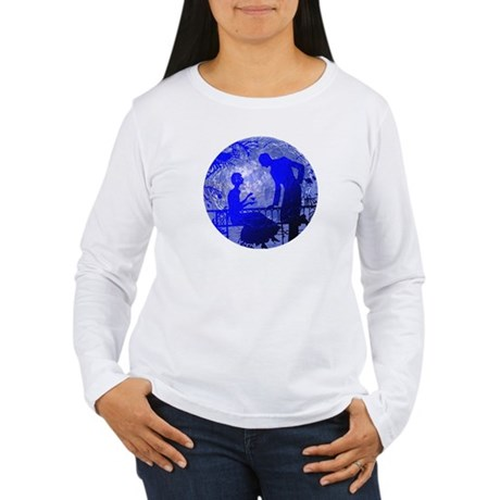 Blue Moon Lovers Women's Long Sleeve T-Shirt