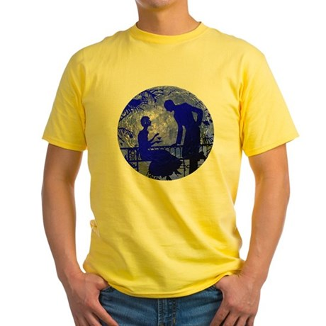Blue Moon Lovers Yellow T-Shirt