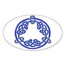 Celtic Knot 116 Oval Decal