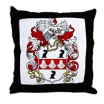 Wilmot Family Crest Throw Pillow