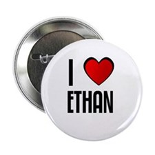 "I LOVE ETHAN 2.25"" Button (10 pack)"