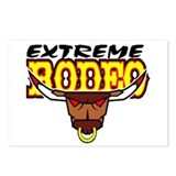 EXTREME RODEO Postcards (Package of 8)