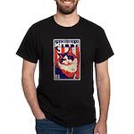 Obey the KITTY! USA Ragdoll Cat Dark T-Shirt