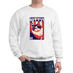 Obey the Kitty! USA Ragdoll Cat Sweatshirt