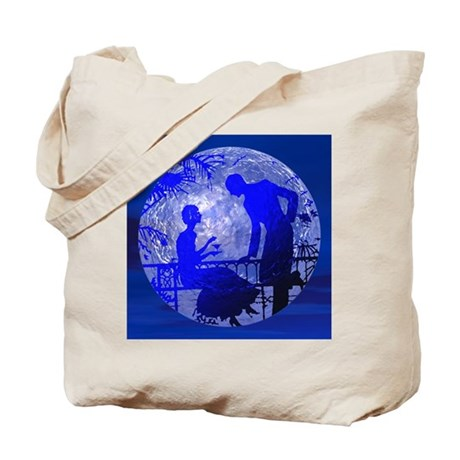 Blue Moon Lovers Tote Bag