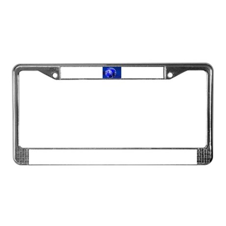 Blue Moon Lovers License Plate Frame