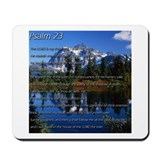 Psalm 23 Bible Scripture Mousepad